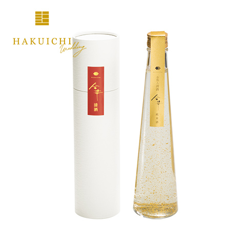《HAKUICHI Wedding》金華 清酒 金箔入 HW